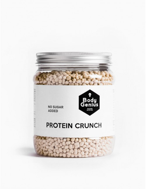 Protein Crunch de chocolate blanco