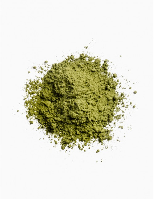 Powdered matcha tea from Japan