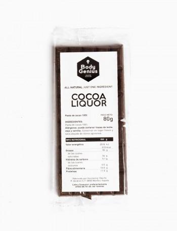 Tablette de cacao 100 %...
