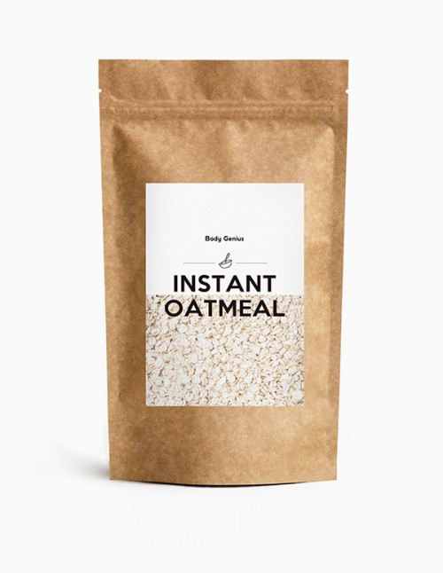 Instant Oatmeal: la mejor harina de avena