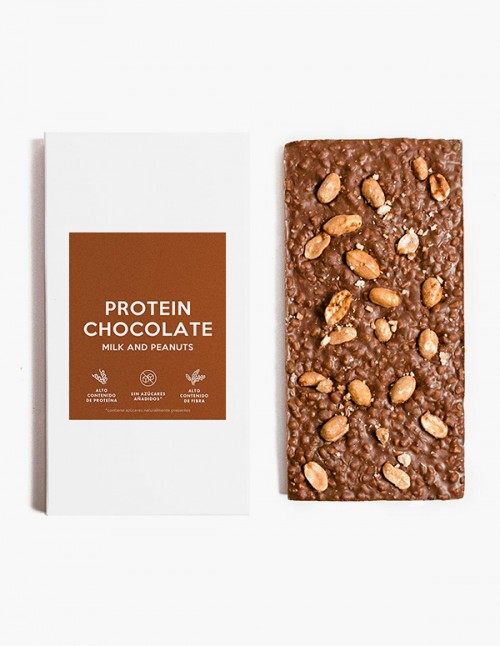 Peanuts high-protein chocolate