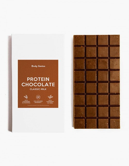 Milk high-protein chocolate