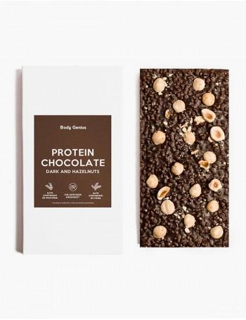 Chocolate proteico con...
