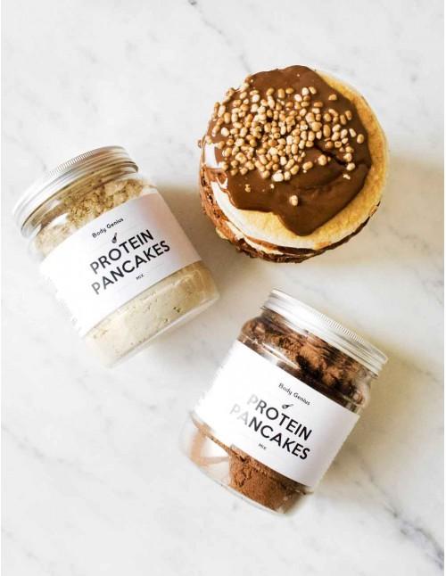 Sweet Protein Pancakes Duo