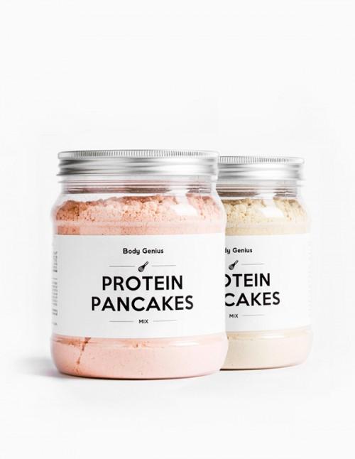 Duo de crêpes protéinées et salées