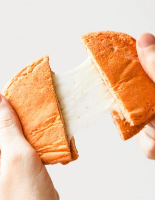 Dúo de tortitas proteicas saladas