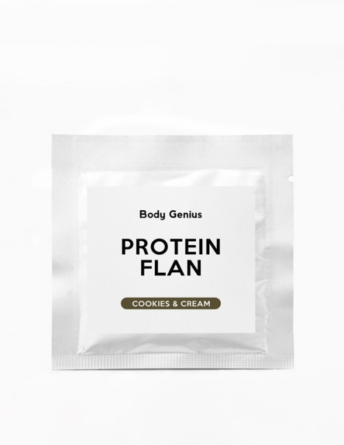 Sugar-free Protein Rich Flan Sample