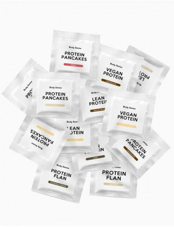 13 high protein samples Pack