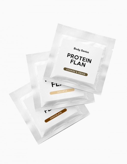 Protein Flan Samples Pack