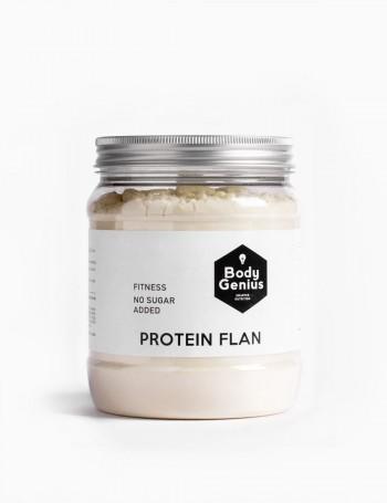 Flan riche en protéines...