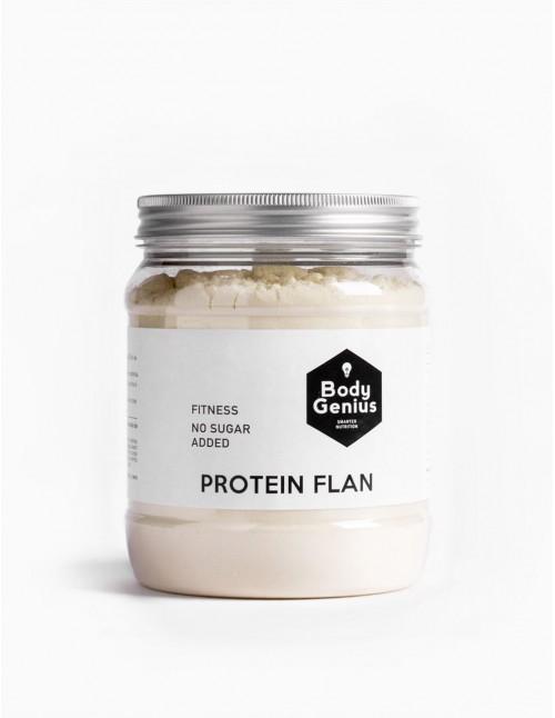 Flan proteico sin azúcar
