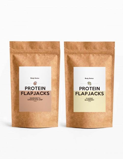 Duo de Flapjacks protéinés sans sucre