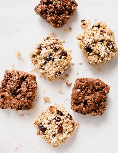 Sugar-free protein flapjacks