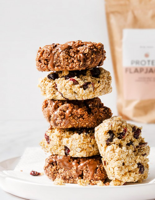High protein sugar-free flapjacks