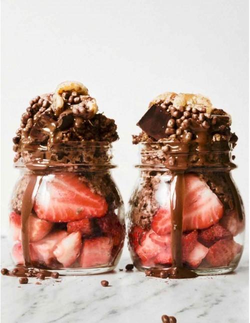 Trio de crème de cacahuète et cacao