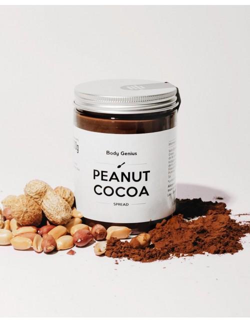Dúo de crema de avellana con cacao y...